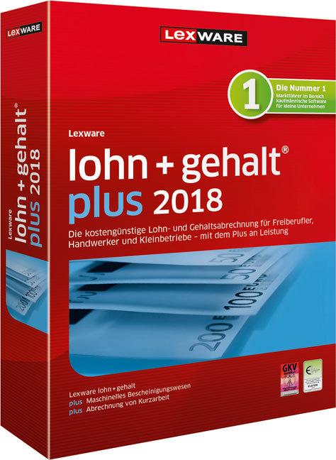 Lexware lohn + gehalt plus 2017, CD-ROM