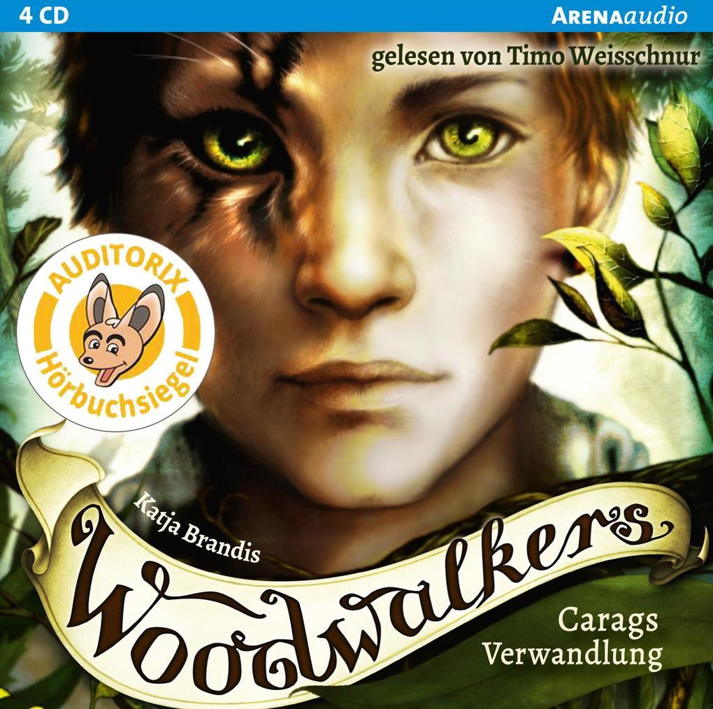 Woodwalkers 01. Carags Verwandlung als Hörbuch