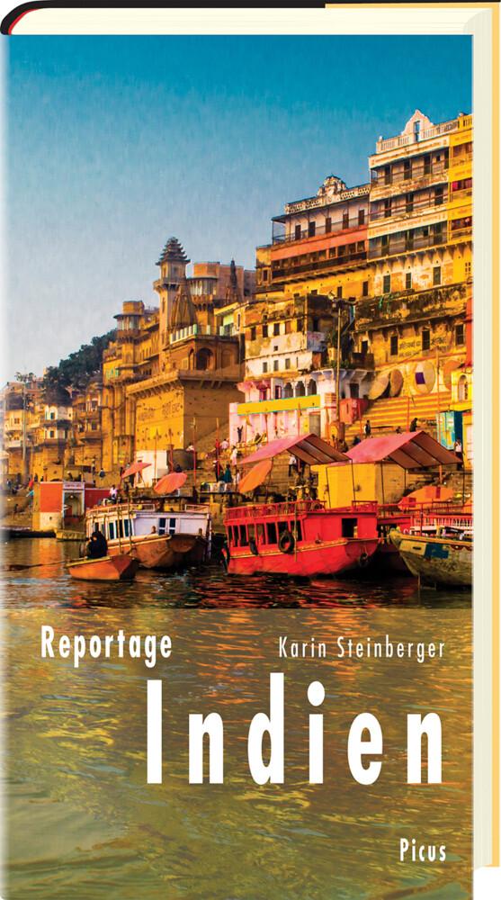Reportage Indien als Buch von Karin Steinberger