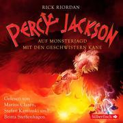 Percy Jackson - Auf Monsterjagd mit den Geschwistern Kane. 3 CDs