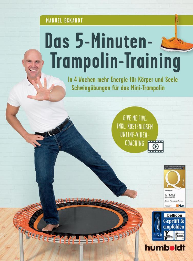 Das 5-Minuten-Trampolin-Training als Buch