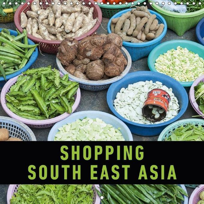 Shopping South East Asia (Wall Calendar 2017 30...