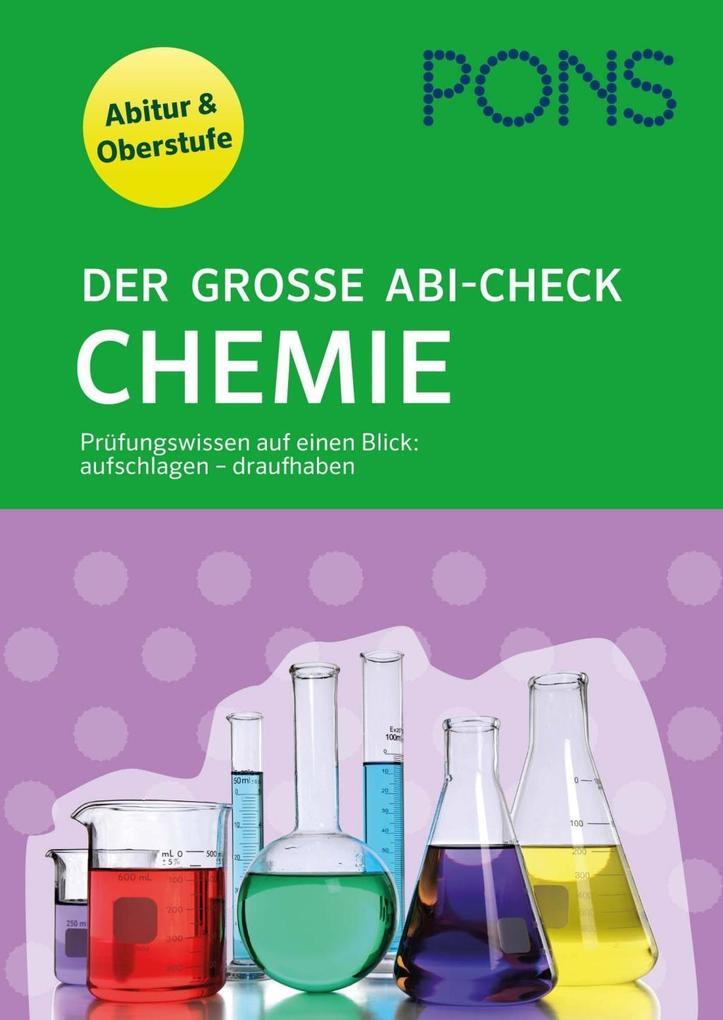 PONS Der große Abi-Check Chemie als Buch