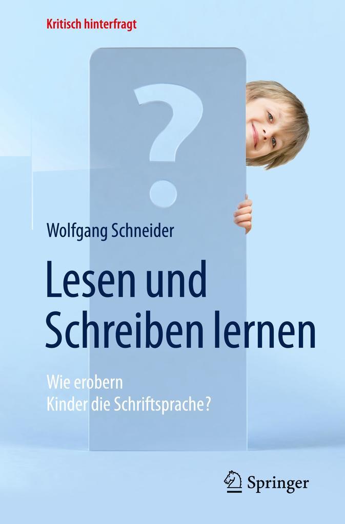Lesen und Schreiben lernen als Buch von Wolfgan...