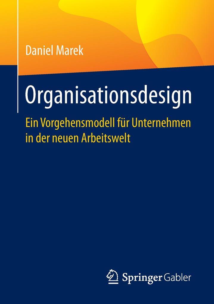 Organisationsdesign als Buch