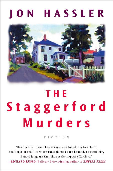 The Staggerford Murders: The Life and Death of Nancy Clancy's Nephew als Taschenbuch