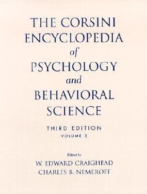 The Corsini Encyclopedia of Psychology and Behavioral Science als Taschenbuch