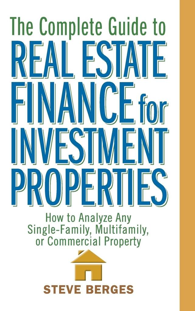 RE Finance for Investment Properties als Buch