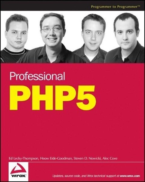 Professional PHP 5 als Buch