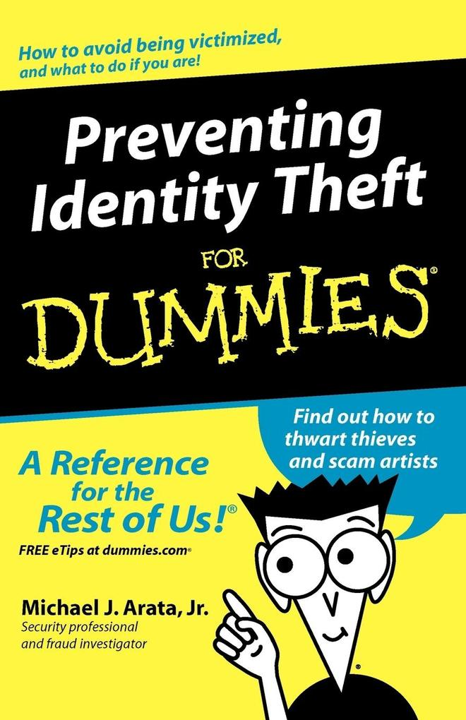 Preventing Identity Theft for Dummies als Buch