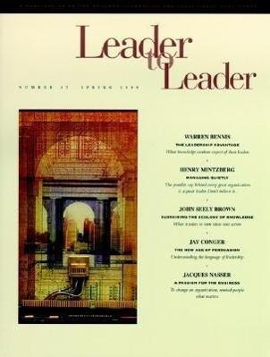 Leader to Leader (Ltl), Volume 12, Spring 1999 als Taschenbuch