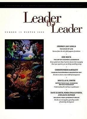 Leader to Leader (Ltl), Volume 15, Winter 2000 als Taschenbuch