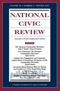 National Civic Review V90 4 Wi