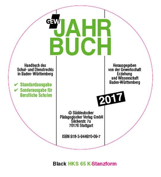 GEW-Jahrbuch 2017, 1 CD-ROM