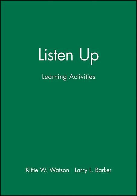 Listen Up: Learning Activities als Buch