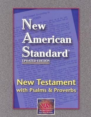 New Testament with Psalms and Proverbs-NASB-Pocket Size als Buch