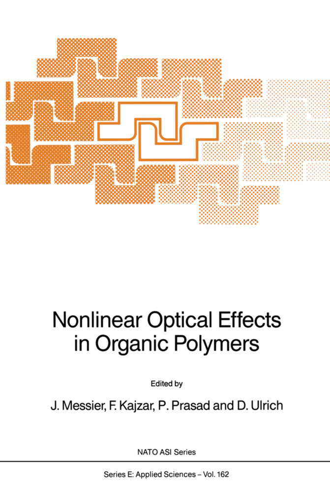 Nonlinear Optical Effects in Organic Polymers als Buch