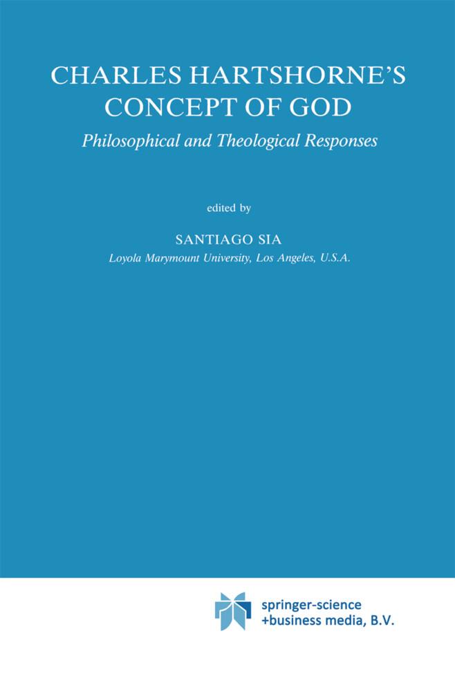 Charles Hartshorne's Concept of God als Buch