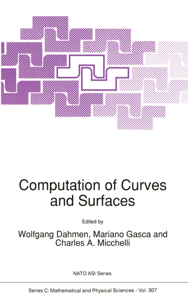 Computation of Curves and Surfaces als Buch