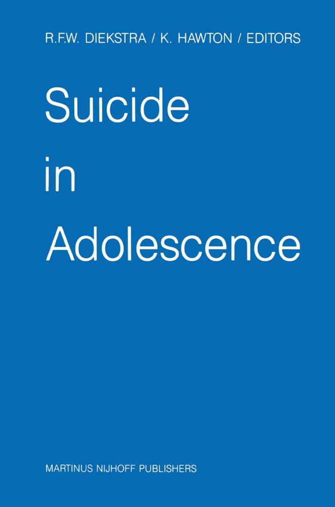 Suicide in Adolescence als Buch
