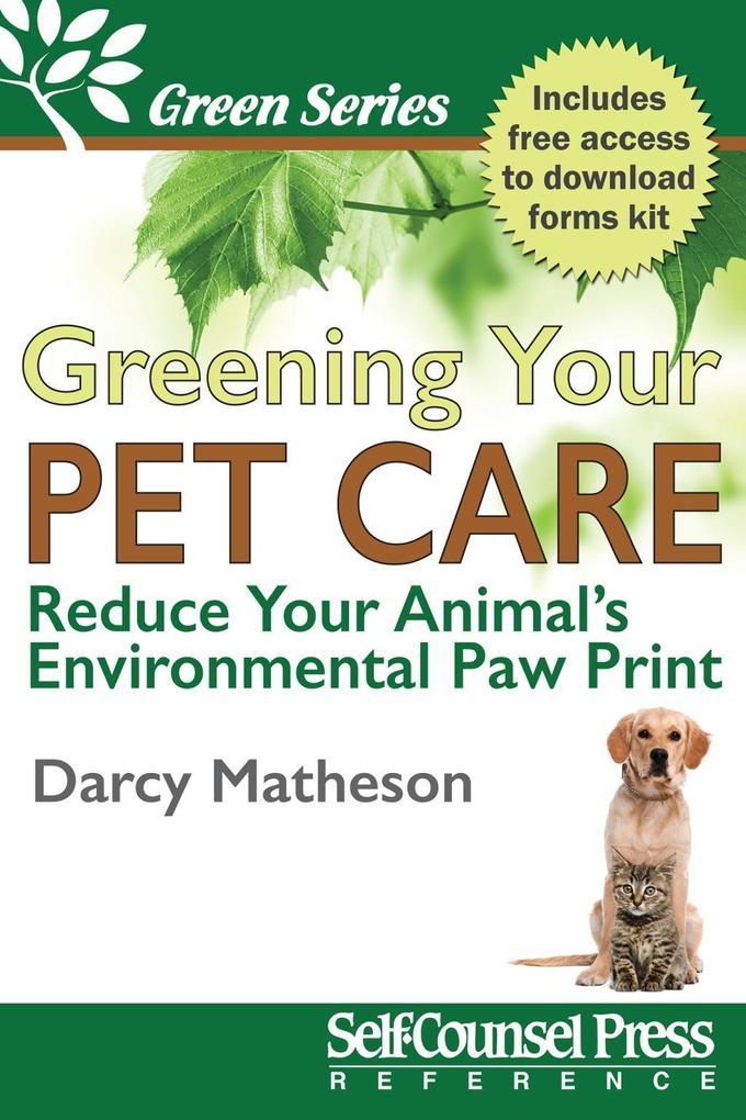Greening Your Pet Care als eBook Download von D...
