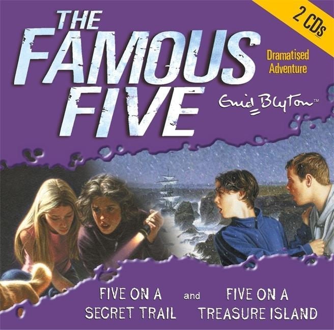 Famous Five: Five On Treasure Island & Five On a Secret Trai als Hörbuch