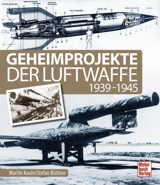 Geheimprojekte der Luftwaffe als Buch von Marti...