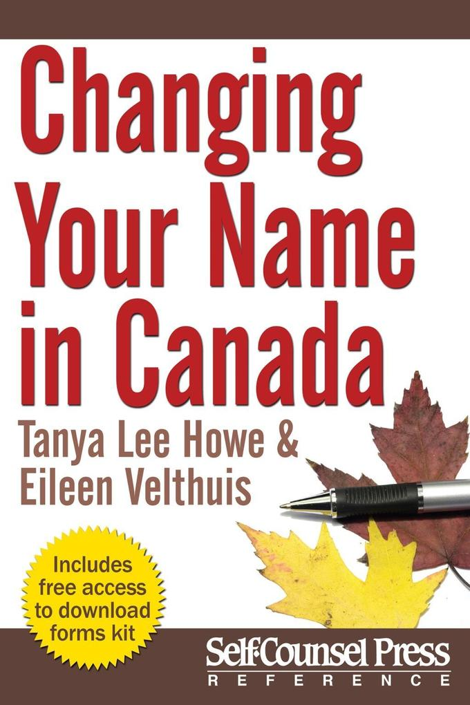 Changing Your Name in Canada als eBook Download...