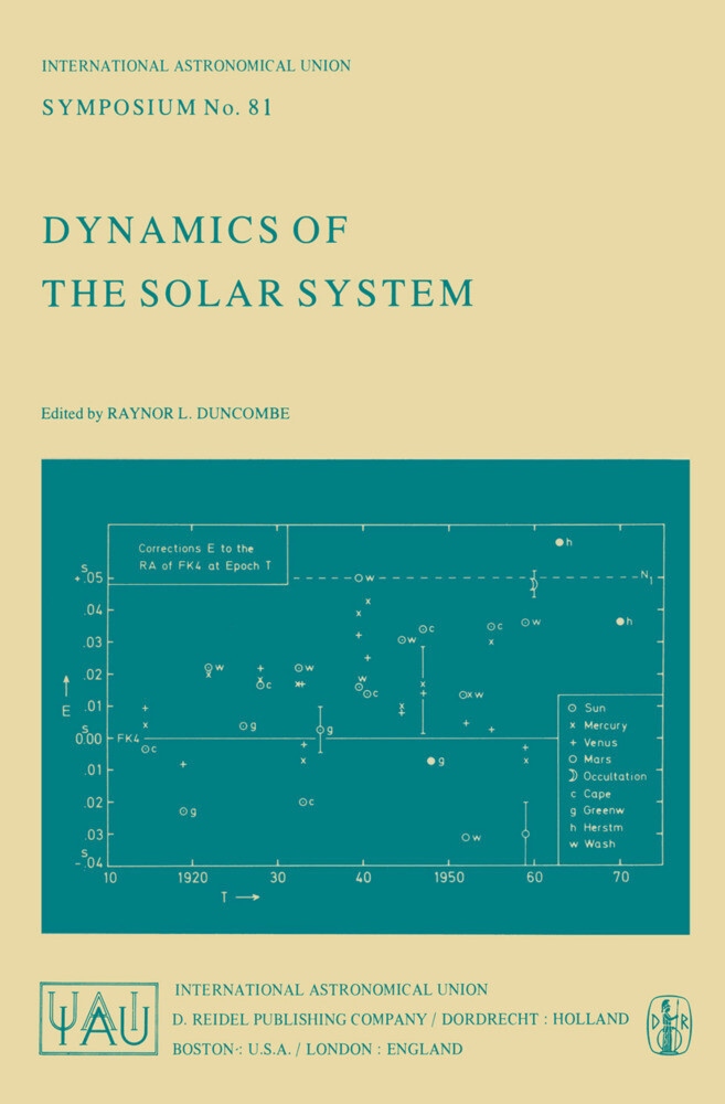 Dynamics of the Solar System als Buch