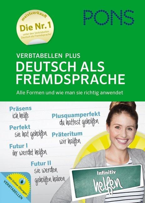 PONS Verbtabellen Plus Deutsch als Fremdsprache...