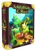 Asmodee PBC0002 - Schildkröte und Hase, Brettspiel