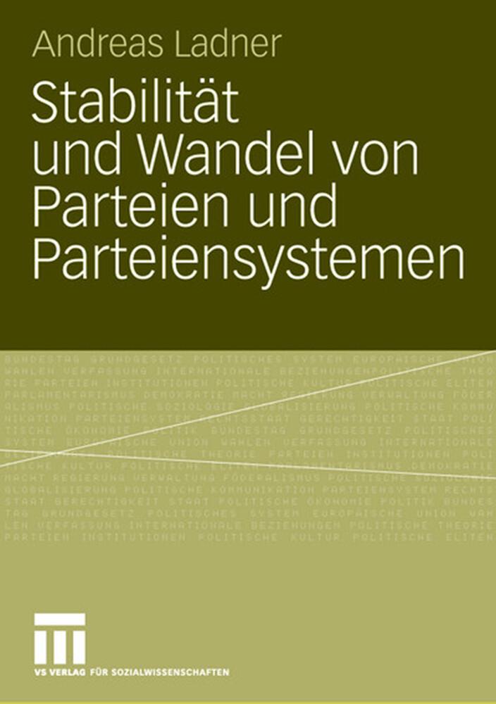 Stabilität und Wandel von Parteien und Parteien...