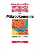 Mikroökonomie 1