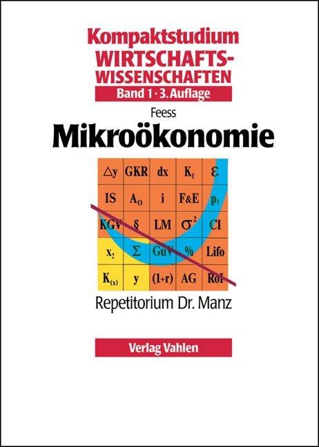 Mikroökonomie 1 als Buch von Eberhard Feess