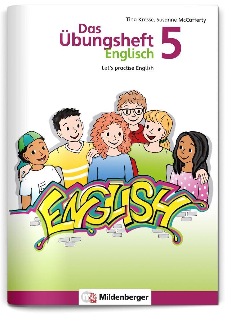 Das Übungsheft Englisch 5 als Buch