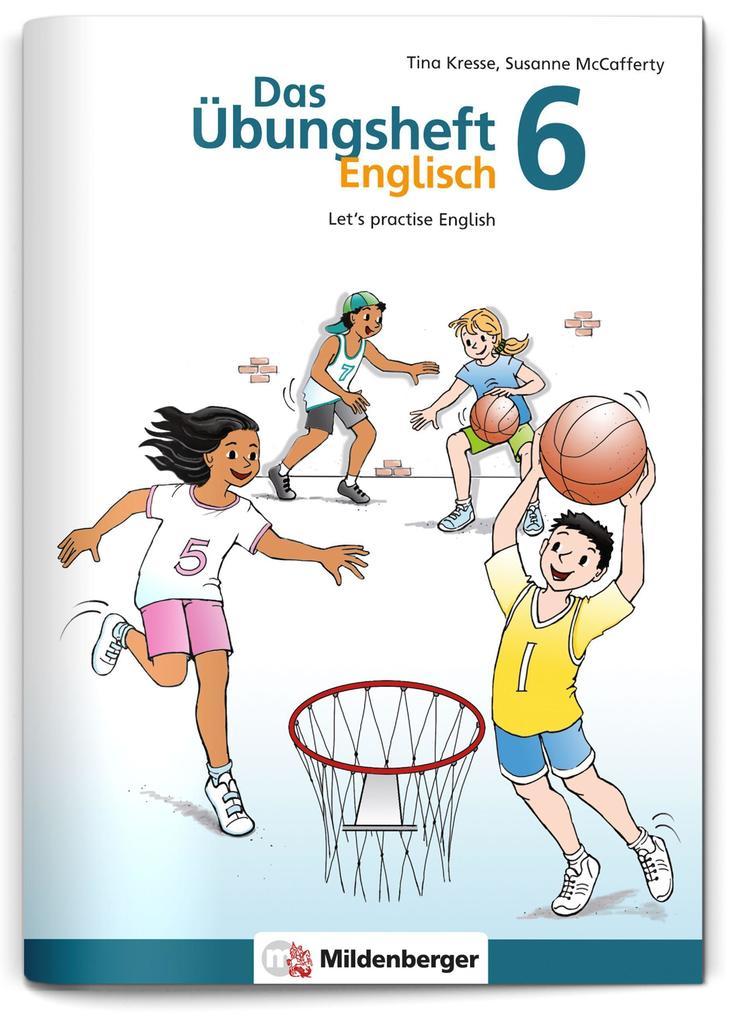 Das Übungsheft Englisch 6 als Buch