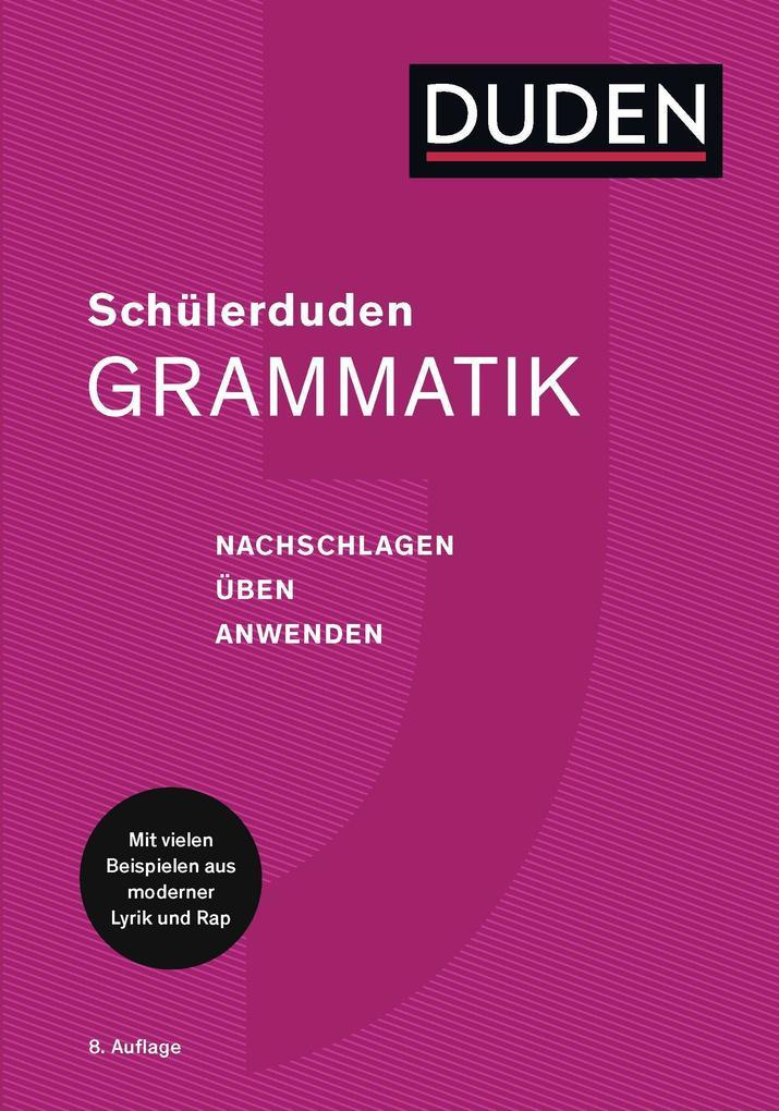 Duden. Schülerduden Grammatik als Buch