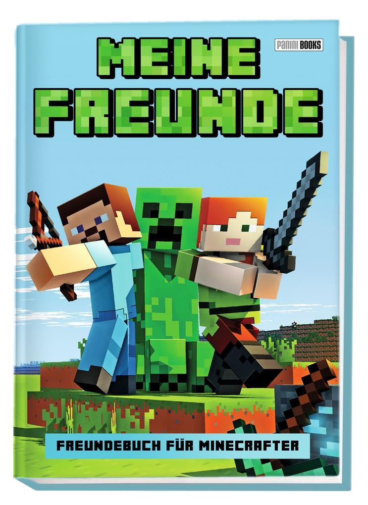 Meine Freunde - Freundebuch für Minecrafter als...