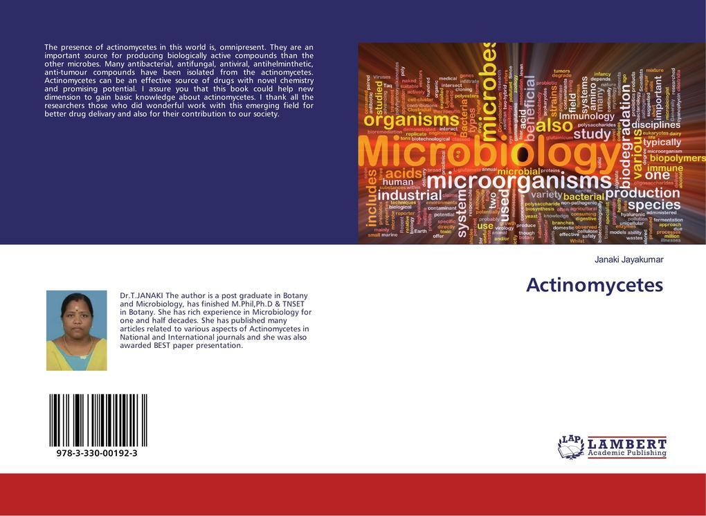 Actinomycetes als Buch von Janaki Jayakumar