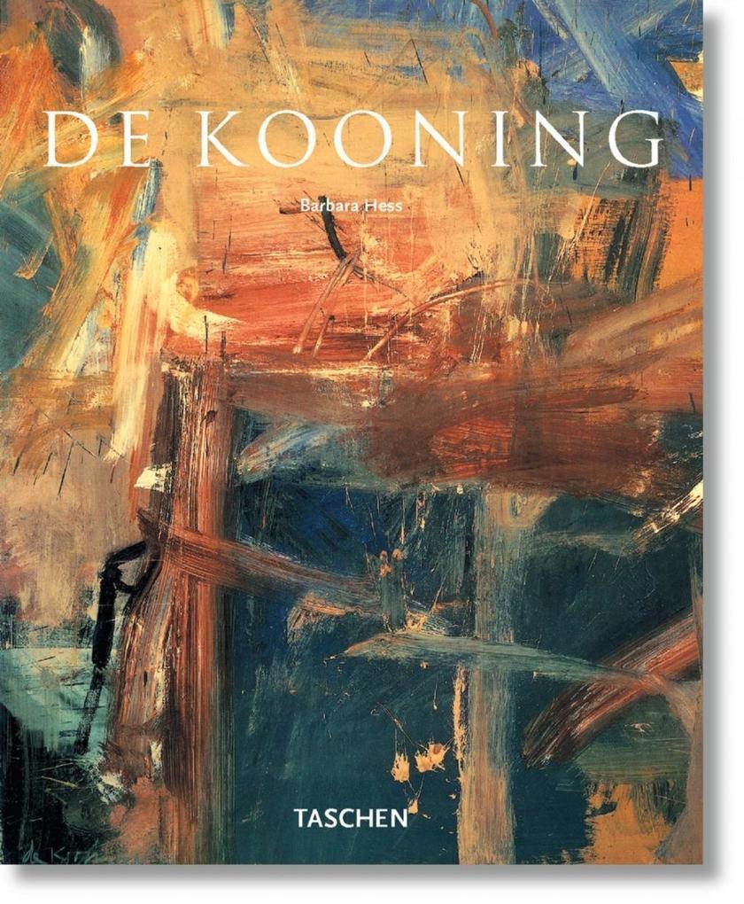 Willem de Kooning als Buch