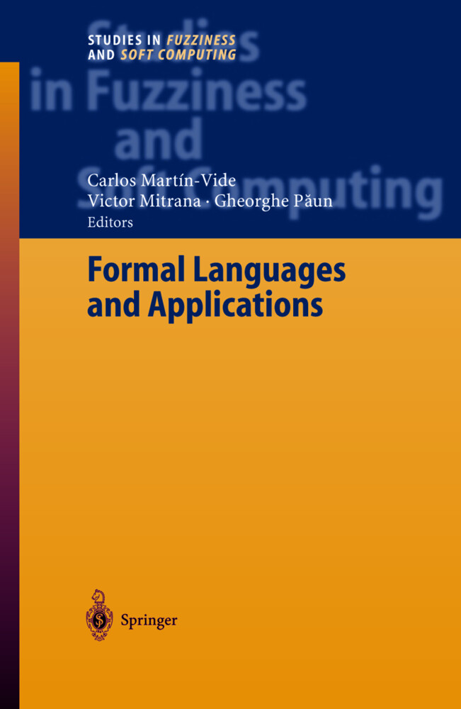 Formal Languages and Applications als Buch