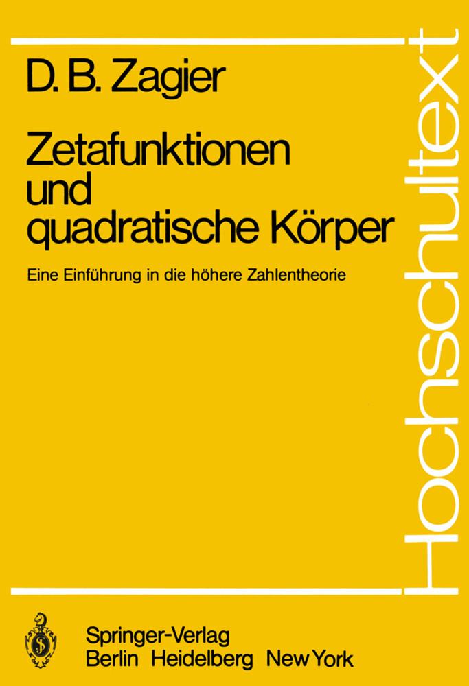 Zetafunktionen und quadratische Körper als Buch