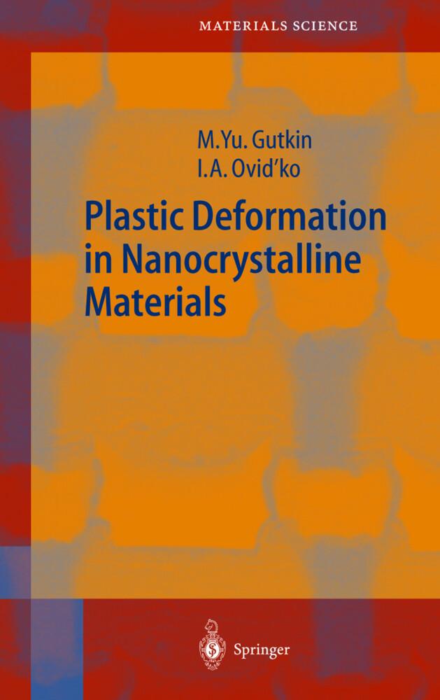 Plastic Deformation in Nanocrystalline Materials als Buch