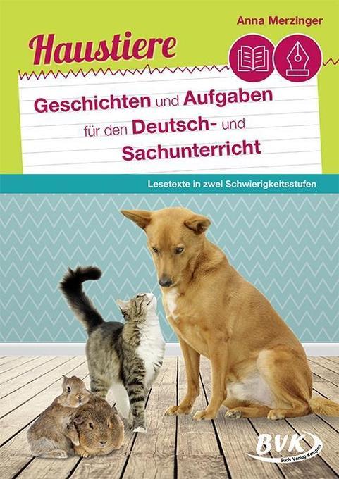 Haustiere als Buch von Anna Merzinger