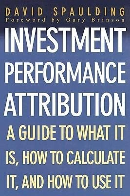 Investment Performance Attribution als Buch