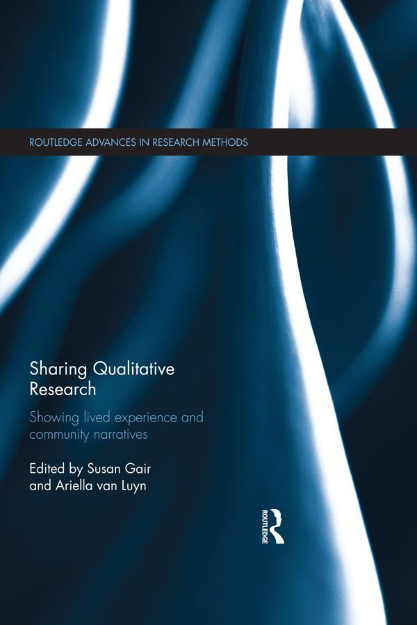 Sharing Qualitative Research als eBook Download...