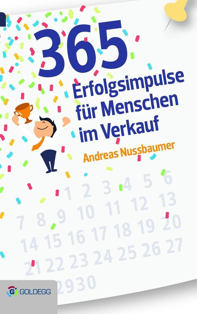 365 Erfolgsimpulse für Menschen im Verkauf als Buch