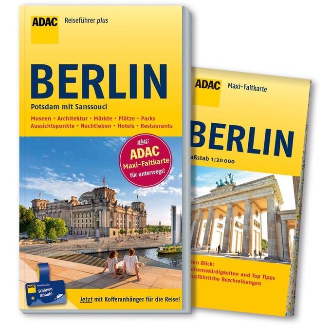 ADAC Reiseführer plus Berlin als Buch von Ulrik...