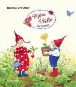 Pippa und Pelle im Garten