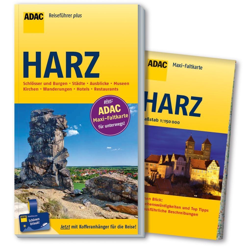 ADAC Reiseführer plus Harz als Buch von Axel Pinck